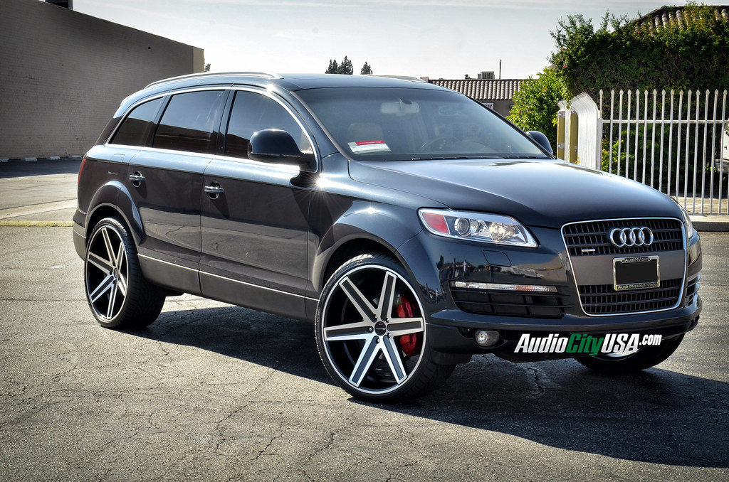 189961 24 Giovanna Dramuno 6 Black Machine 2008 Audi Q7 in addition 19 together with 09 together with Watch also 27. on 2014 chevy impala on 22 inch rims