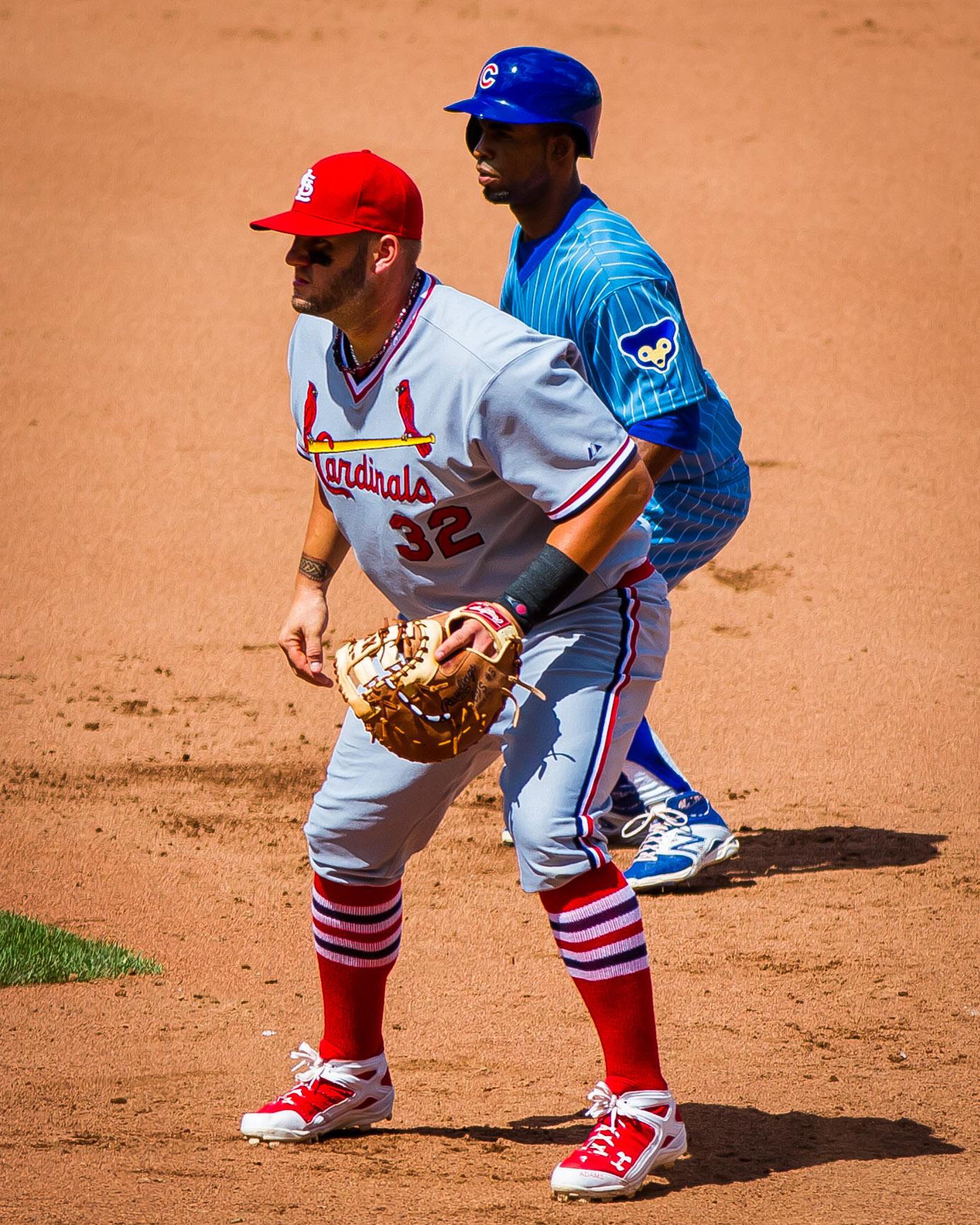 Matt Adams in Cardinals assigned throwback