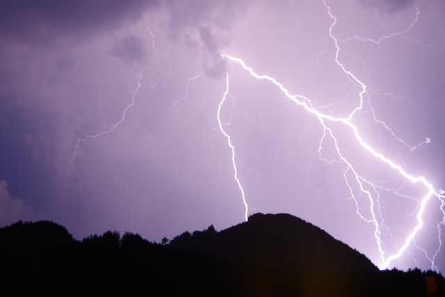 Blitz Einöder Berg