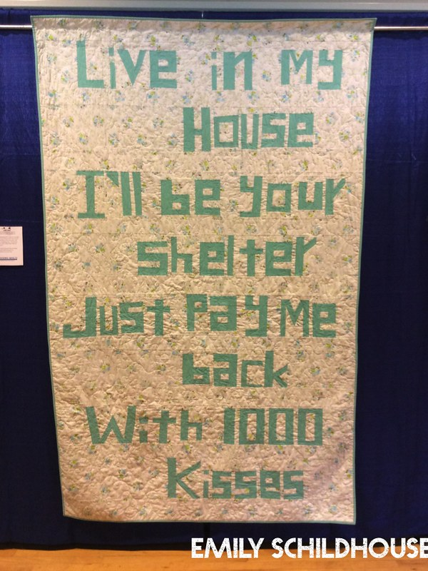 Lyric Quilt by Emily