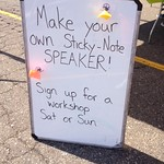 Join us for Sticky-Note Speaker workshops! These filled up fast!