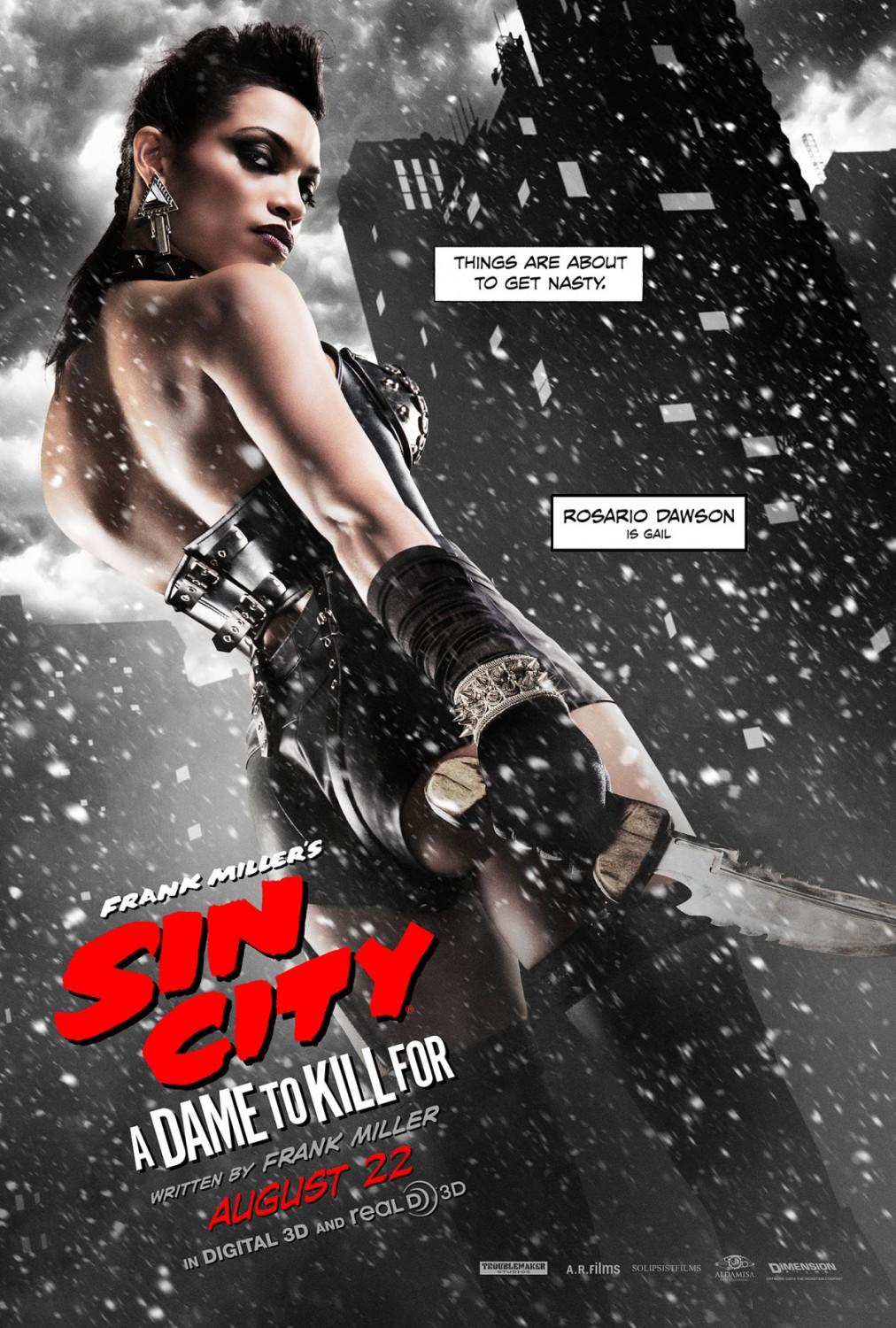 Sin City: A Dame to Kill For' Red Band Trailer