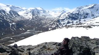 Climbing Galdhøpiggen, Jotunheimen, Norway