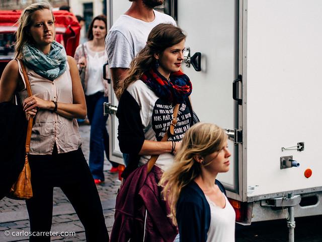 De marcheta por Nyhavn