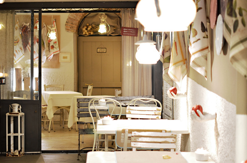 Restaurant, Bergamo, Italy