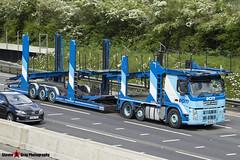 Volvo FM 6x2 Car Transporter - W4 ECM - ECM - M1 J10 Luton - Steven Gray - IMG_9298