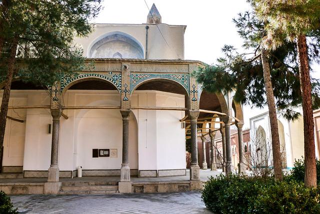 St. Mary Church, Isfahan, Iran イスファハン、マリアム教会外観