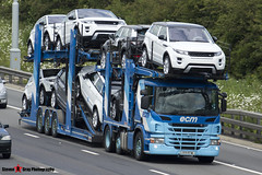 Scania P420 6x2 Car Transporter - J33 ECM - ECM - M1 J10 Luton - Steven Gray - IMG_3294