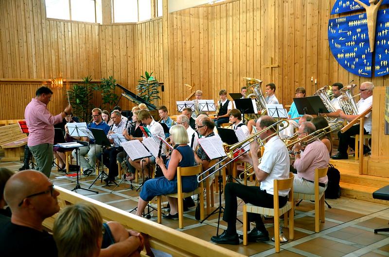 Symfonic Band - Sommarmusikskola 2014