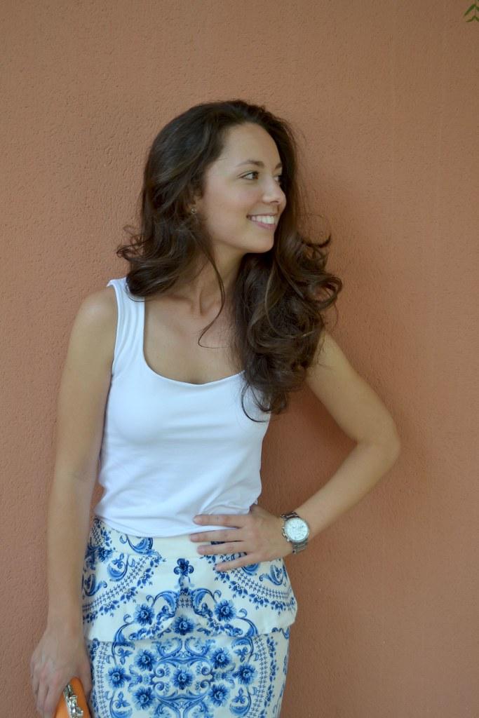 Tu falda estampada: ¿cómo combinarla?