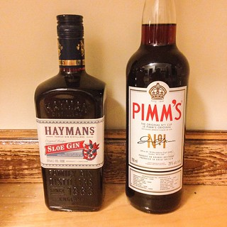 Imports from Ontario. I better start working on the house cocktail list. #travelontario #weekendinthecountry