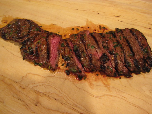 Grilled Shirt Steak