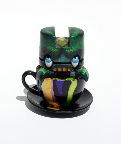 Custom Monster Tea Mini Figure