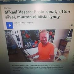 Hej nu kommer även #sr norrbotten #pajla köra  detta program. Hei nyt tulee #sr norrbotten #pajla ohjelman suorittamiseen glöm inte att jag ska vara med i #nickes svenska topp lista  finns på #Facebook musiken finns på #spotify #itunes.apple.com #wimpmusi