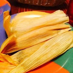 Trying black bean tamales! #vegetarian