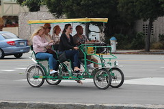 motorcycle(0.0), carriage(0.0), bicycle(0.0), cart(0.0), tricycle(0.0), rickshaw(1.0), automobile(1.0), vehicle(1.0), transport(1.0), mode of transport(1.0), land vehicle(1.0),