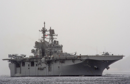 America Arrives to Homeport After Maiden Transit