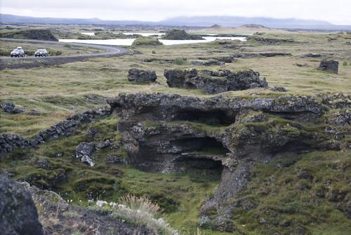 Near Lake Mývatn