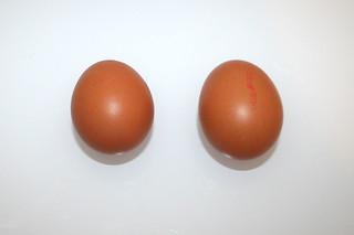 04 - Zutat Eier / Ingredient eggs