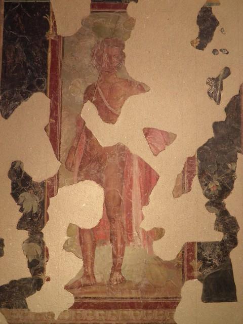 Fresco depicting Bacchus, discovered at the Villa de Roquelaure near Auch (Augusta Auscorum), BC 20–10, Musée des Jacobins, Auch