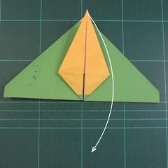 วิธีพับกระดาษเป็นรูปนกแก้ว (Origami Parrot) 016