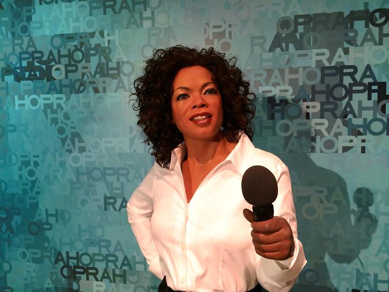 Oprah @ Madame Tussauds