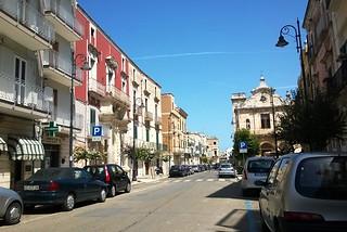 Noicattaro. Via Carmine front