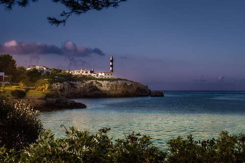 "Porto Colom from the book ""Le isole lontane"" by Sergio Albeggiani"