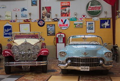 Cadillac 1955 and a Packard