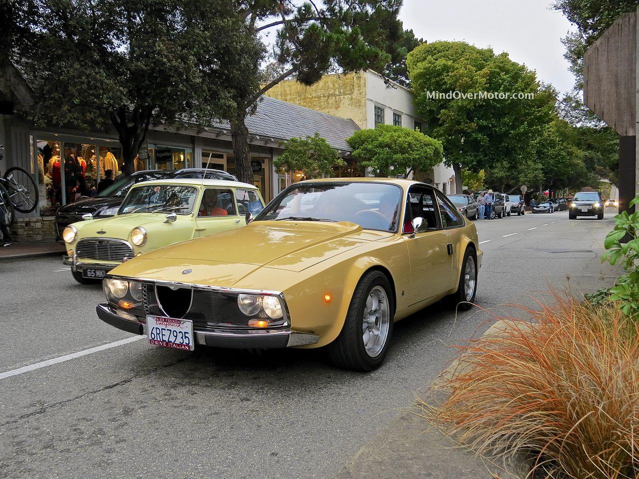1973 Alfa Romeo 1600 Junior Zagato Front