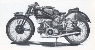 Moto Guzzi 500 twin