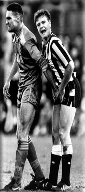 Picture of Paul Gascgoine and Vinnie Jones