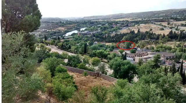 Fotomontaje para la ubicación exacta del Convento de San Bartolomé de la Vega
