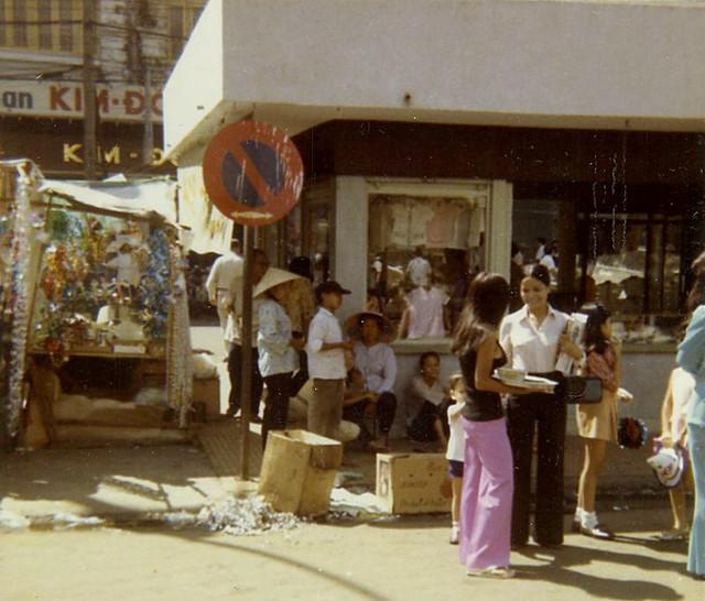 SAIGON 1970 by Michael Belis - Nguyen Hue Blvd