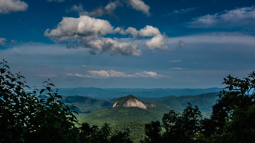 unitedstates july northcarolina blueridgemountains canton blueridgeparkway 2014 lookingglassrock