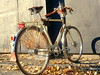 New configuration for my classic Gazelle - gentlman's touring bicycle.