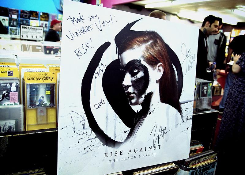 Rise Against @ Vintage Vinyl