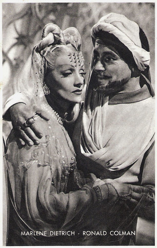 Marlene Dietrich and Ronald Colman in Kismet
