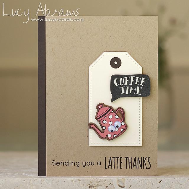 sending a latte thanks - Lucy Abrams
