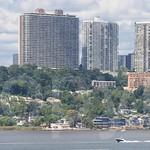 Fort Lee Skyline on the Hudson River, New Jersey