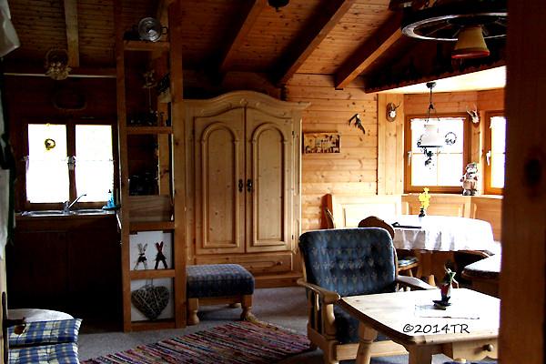 我在須密頓山的廚房。Chalet an der Piste -Walchen-20140621