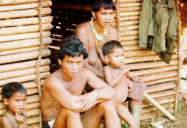 1973 MONTAGNARDS DU VIETNAM