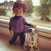 Glen, the seed of Chucky, and R2 hanging out and talking about stuff.