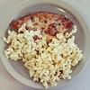 I am nothing like my DAd...not at all. #popcornandpizza #winningcombo