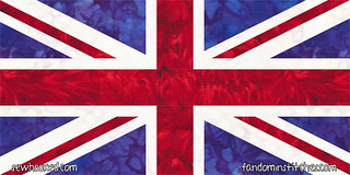 Union Jack, paper pieced