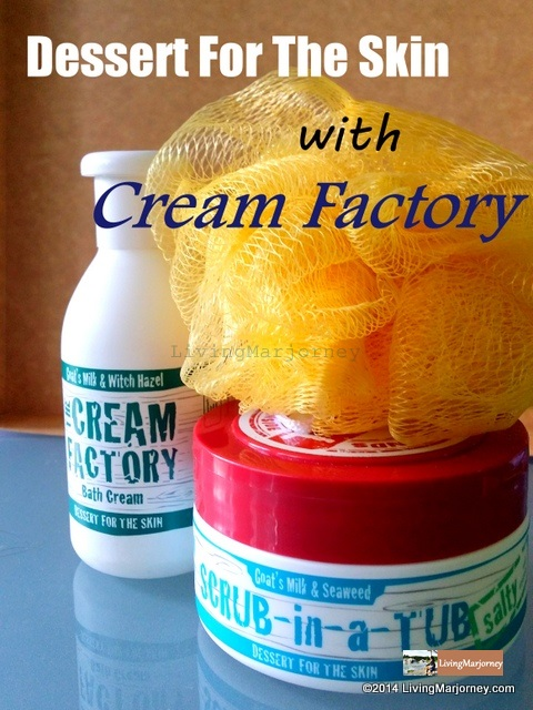 #Saforelle & #Cream Factory #DessertForTheSkin #BathRevolution