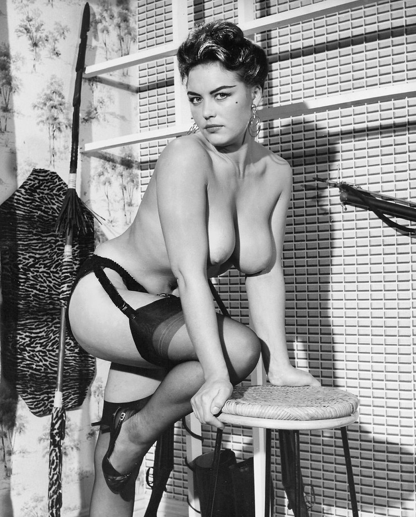 Black and white vintage big tits