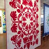 Mary Cesar's amazing Hawaiian appliqué at Island Quilter. @islandquilter