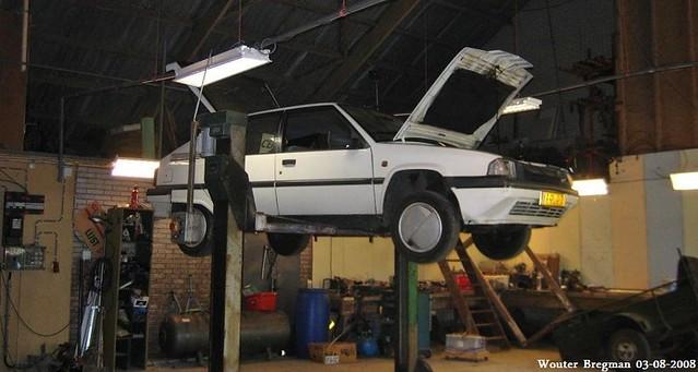 My ex Citroën BX 16 TZI automatic (1992)