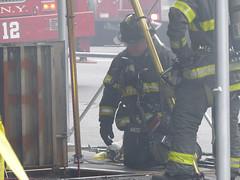 PATH Train fire